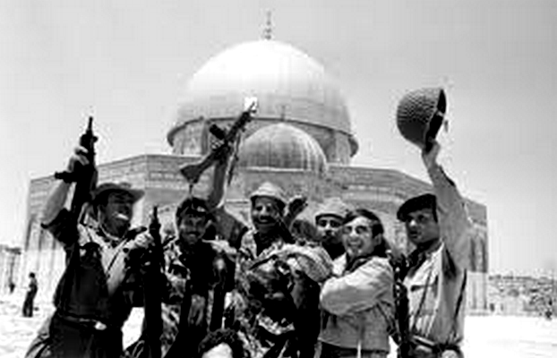 listen to the spine-tingling 1967 broadcasts from the Israel Defense Forces as they fought their way to the Temple Mount and reunified Jerusalem!