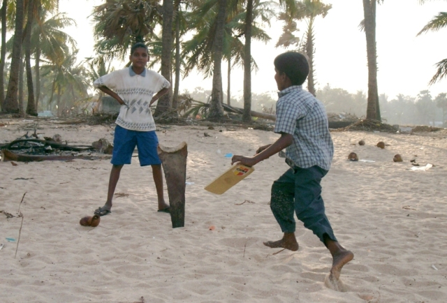 sri-lanka-we-lost-family-and-property-but-life-must-go-on-boys-playing-cricket-on-tsunami-hit-beach